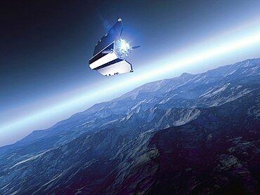 GOCE Satellite's Electric Ion Propulsion