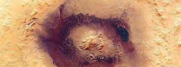 Moreux Crater, Mars