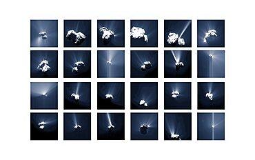 Comet Churyumov-Gerasimenko Outbursts