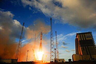 Launch of Soyuz VS07 2014