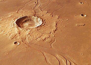 Hephaestus Fossae, Mars
