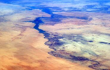 Nile River from the ISS