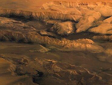 Mars, Valles Marineris Canyon