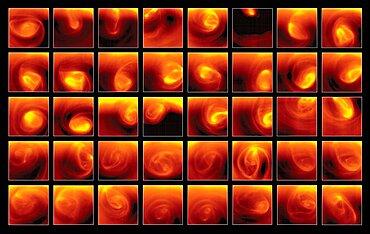 Polar Vortex on Venus