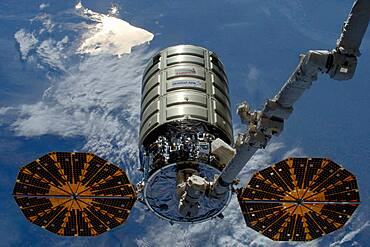 Cargo Craft Released by the ISS