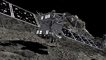 Rosetta Lands on Comet 67/P Churyumov-Gerasimenko