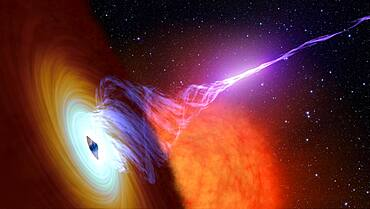 Black Hole and Plasma Jet