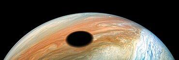 Io's Shadow on Jupiter