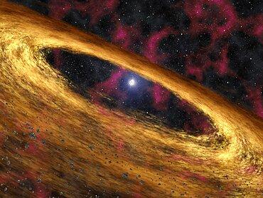 Stellar Rubble May Be Planetary Building Blocks