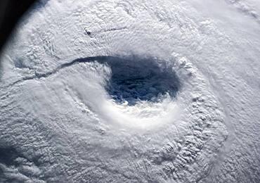 The Eye of Typhoon Neoguri