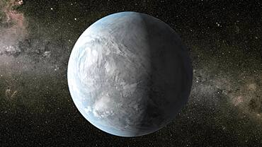 Exoplanet Kepler-62e
