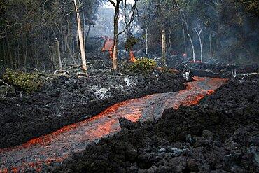 Kilauea Eruption in 2008