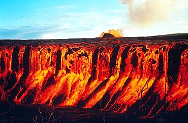 Mauna Ulu Eruption, 1969