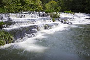 Siuslaw Falls, Siuslaw River, Coast Range Mountains, Oregon.