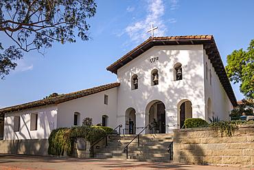 Mission San Luis Obispo de Tolosa, central California.