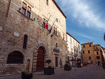 Piazza dei Priori in Narni