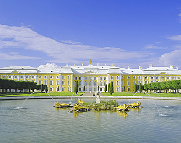 The Summer Palace, Peterhof (Petrodvorets), St. Petersburg, Russia, Europe