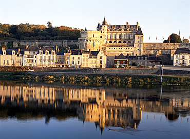 Chateau d'Amboise, Touraine, France, Europe