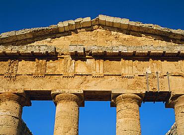 Greek Temple, Segesta, Sicily, Italy, Europe