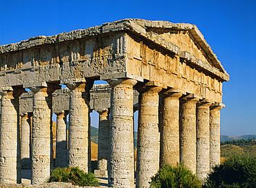 Greek Temple, Segesta, Italy, Europe