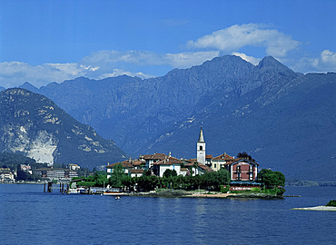 Isola Pescatori, Lake Maggiore, Piemonte, Italian Lakes, Italy, Europe