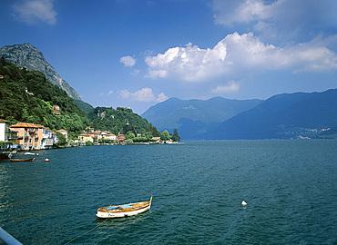 San Mamete, Lake Lugano, Italian Lakes, Lombardia (Lombardy), Italy, Europe