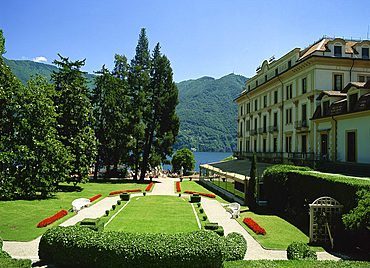 Villa Taranto garden, Lake Maggiore, Piemonte, Italy, Europe
