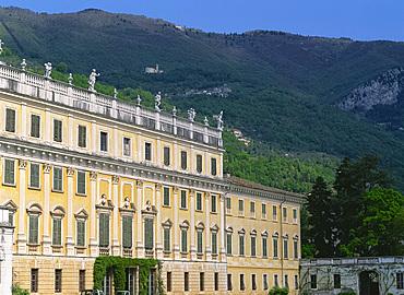 The Villa Bogliaco on Lake Garda, Lombardy, Italy, Europe