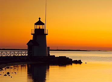 Brant Point Lighthouse, Nantucket, Massachusetts, USA