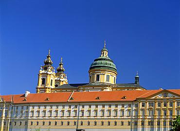 Melk Abbey, Melk, Austria, Europe