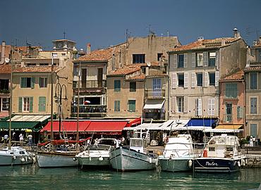 Harbour, Cassis, Bouches du Rhone, Provence, France, Mediterranean, Europe