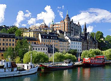 Sodermalm waterfront, Stockholm, Sweden, Scandinavia, Europe
