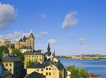 Sodermalm skyline, Stockholm, Sweden, Scandinavia, Europe