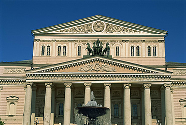 The Bolshoi Theater, Moscow, Russia, Europe