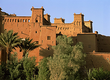 Ait Benhaddou (Ait-Ben-Haddou) kasbahs, High Atlas, Morocco, North Africa, Africa