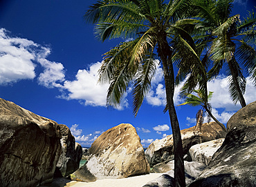 Boulders in Spring Bay, The Baths, Virgin Gorda, British Virgin Islands, West Indies, Central America