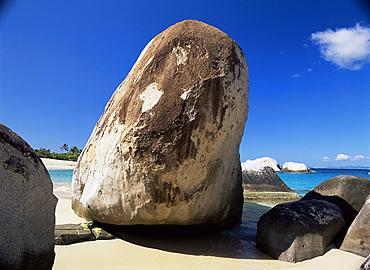 Boulders, The Baths, Virgin Gorda, British Virgin Islands, West Indies, Central America