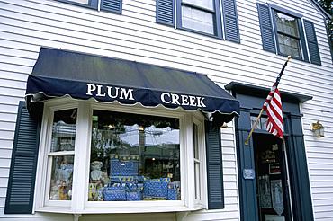 Fancy shop, Vineyard Haven, Martha's Vineyard, Massachusetts, New England, United States of America, North America