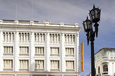 The Casa Granda Hotel on Parque Cespedes, Santiago de Cuba, Cuba, West Indies, Central America
