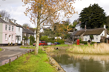 The quaint old village of Batson near Salcombe, south Devon, England, United Kingdom, Europe