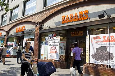 Zabar's, the famous upper westside deli on Broadway, Manhattan, New York City, New York, United States of America, North America