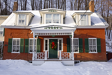 The 1830 Shire Town Inn in Woodstock, Vermont, New England, United States of America, North America