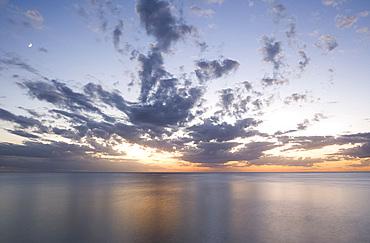 Sunset on Sanibel Island, Florida, United States of America, North America