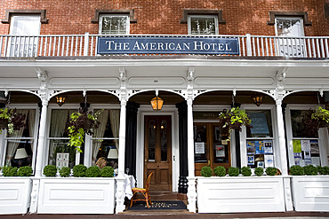 The American Hotel in Sag Harbor, Long Island, New York State, United States of America, North America