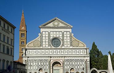 Santa Maria Novella, Florence, UNESCO World Heritage Site, Tuscany, Italy, Europe