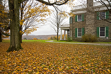 Springwood, the Franklin Roosevelt Museum in Hyde Park, New York State, United States of America, North America