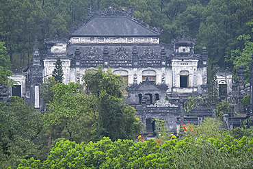 The Tomb of Emperor Khai Dinh of the Nguyen dynasty near Hue, Vietnam, Indochina, Southeast Asia, Asia