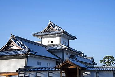 Kanazawa Castle, Kanazawa, Ishigawa, Japan, Asia
