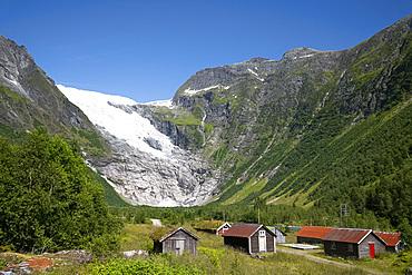 The Jostedalsbreen Glacier in Boyabreen, Vestlandet, Norway, Scandinavia, Europe