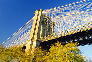 The Brooklyn Bridge, New York City, United States of America, North America